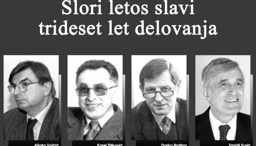 This year, the Slovenian Research Institute will celebrate its 30th anniversary