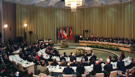 In the meantime the Senate approves the Maastricht Treaty